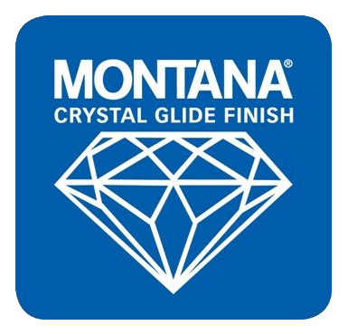 Crystal Glide Blue Square Logo